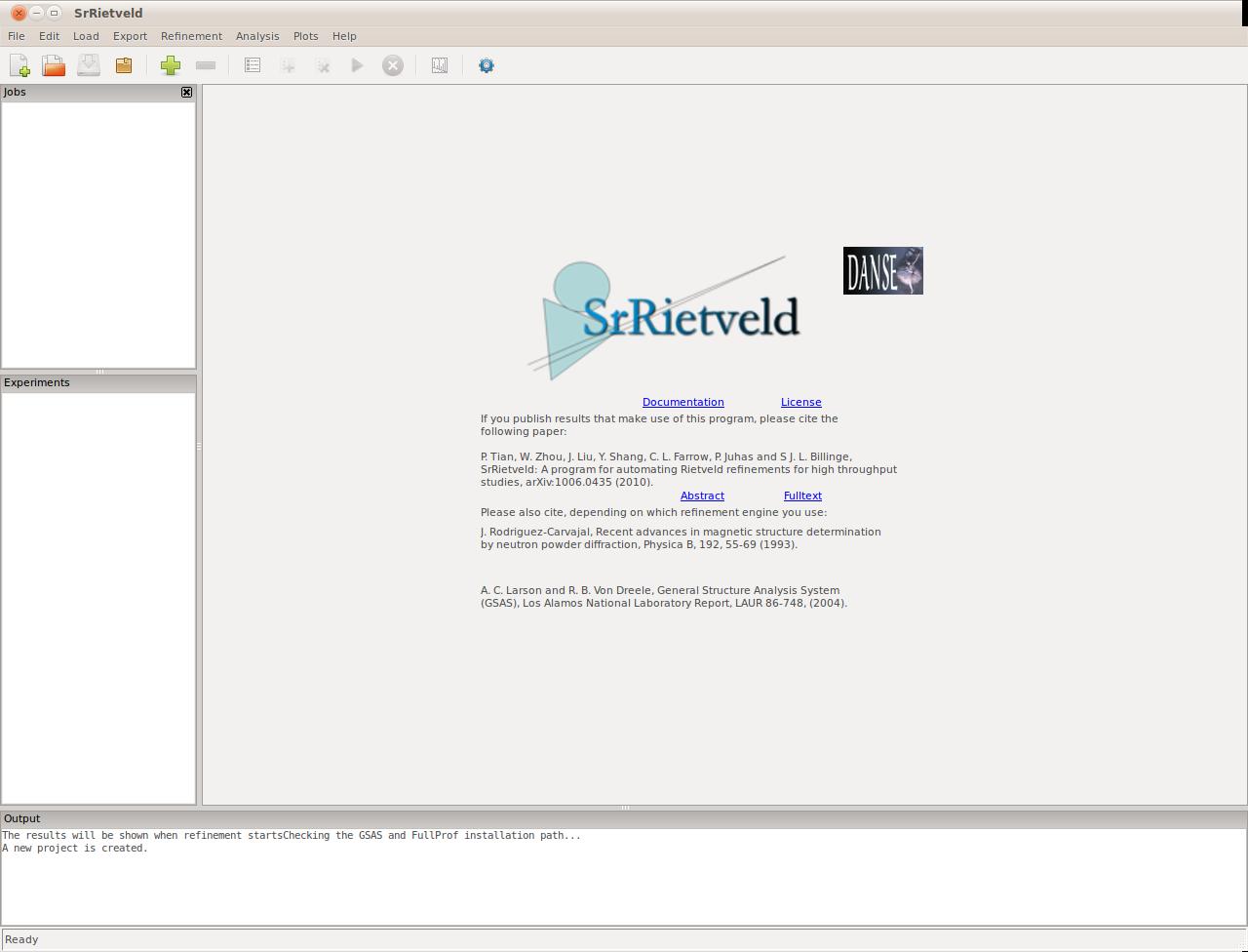 Reference — SrRietveld 1 0-r6875 documentation